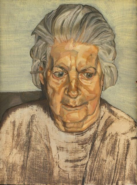 The Painter's Mother (1973). Oil on canvas, 35 x 27.2 cm.
