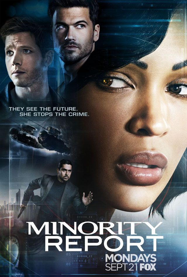 Minority Report TV show - can see murders before they happen-looking forward to it...