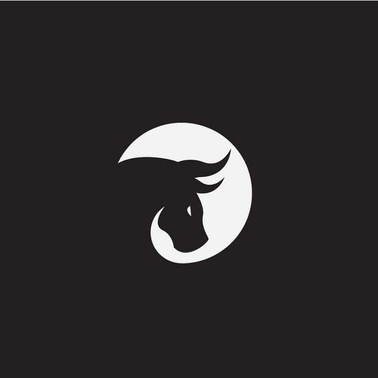 Bull Mark by @hipnosstudio - logocore.com/learnlogodesign http://ift.tt/2yRLbKa