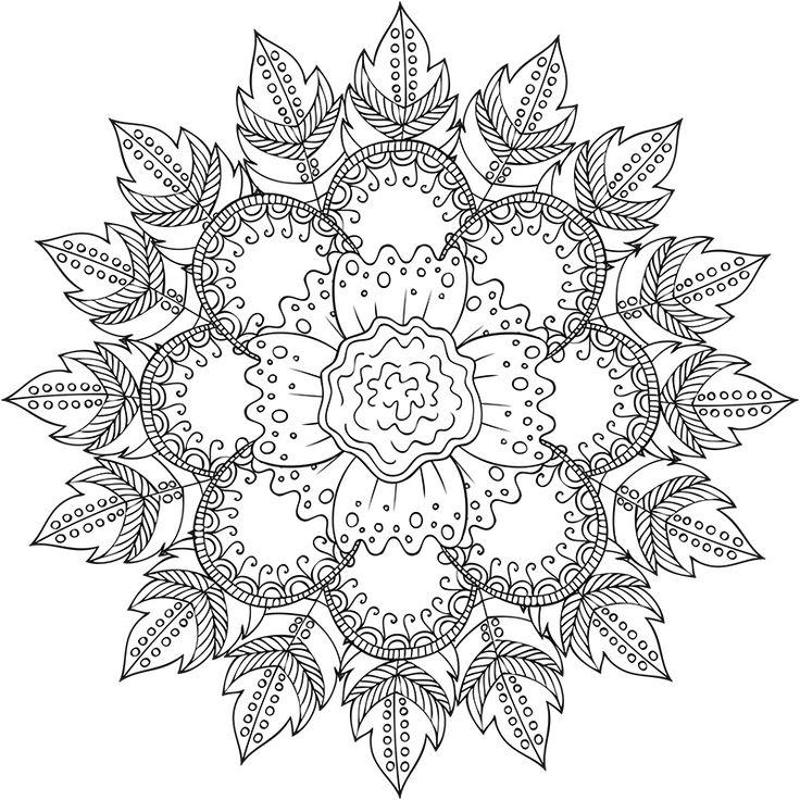 131 meilleures images du tableau mandala de nathalie marcotte poulle sur pinterest mandalas - Colorier des mandalas ...