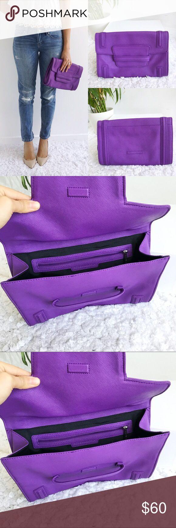 bcbgmaxazria 💜purple 💜Clutch bcbgmaxazria 💜purple 💜Clutch BCBGMaxAzria Bags Clutches & Wristlets