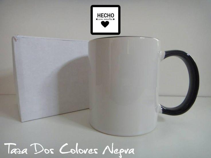 :: Taza Dos Colores Personalizada :: Taza blanca con interior y asa de color. Incluye caja! Colores: Negro, Rojo y Azul  Podés elegir frases, dibujos, símbolos, fotos, dedicatorias o bien contarnos tu IDEA y la hacemos realidad.