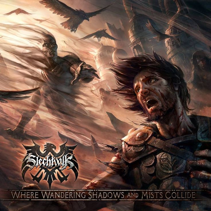 """SLECHTVALK (Epic Extreme Metal) • Album """"Where Wandering Shadows And Mists Collide"""" • Dec. 20th, 2016 • Self-financed"""