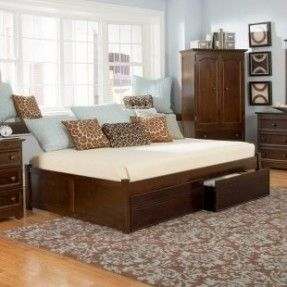 full size daybed for the guest bedroom - space saver when pushed up against a wall