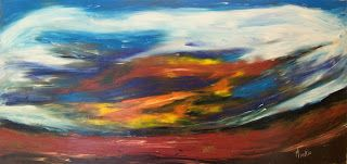 A Pretty Talent Blog: Paint An Impressionist Landscape in Oils