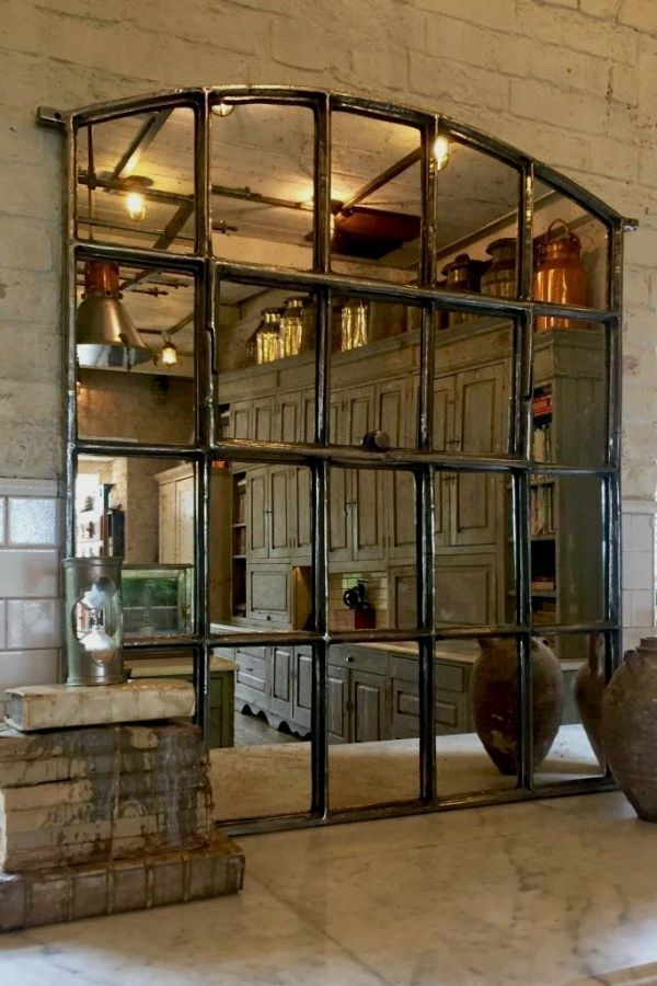11 Gorgeous Steel Window Installation The Best Inspirations Cakhasan Vintage Industrial Decor Vintage Industrial Design Arched Window Mirror