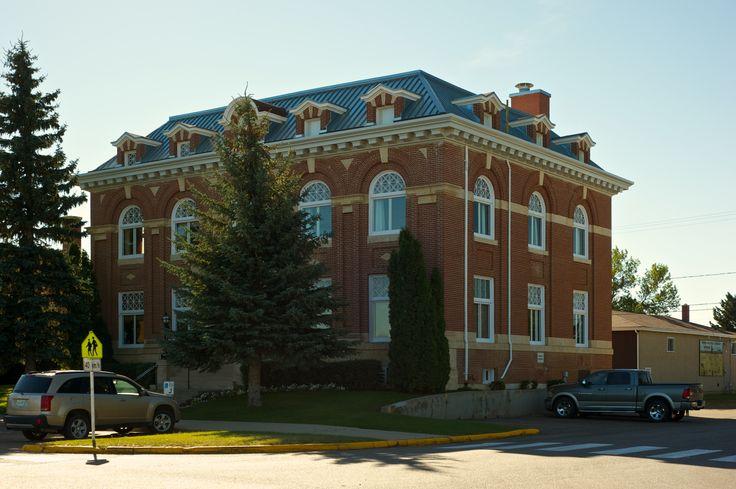 District Court House, Battleford, Saskatchewan