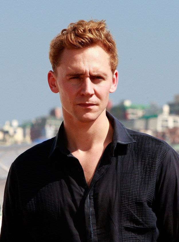 And with red hair.   29 Times Tom Hiddleston Was Your Perfect Boyfriend