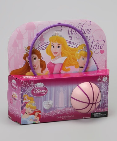 Take a look at this Princess Basketball Hoop Set by Disney on #zulily today!