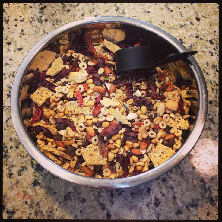 Homemade Parrot food  save money by making your own mix  almonds walnuts peanuts raisins dried chilies Cheerios corn kernels organic flatbread pumpkinseed sunflower seeds pecans raisins