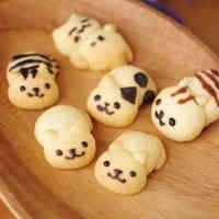 薄力粉で簡単!ねこあつめ風ねこクッキー