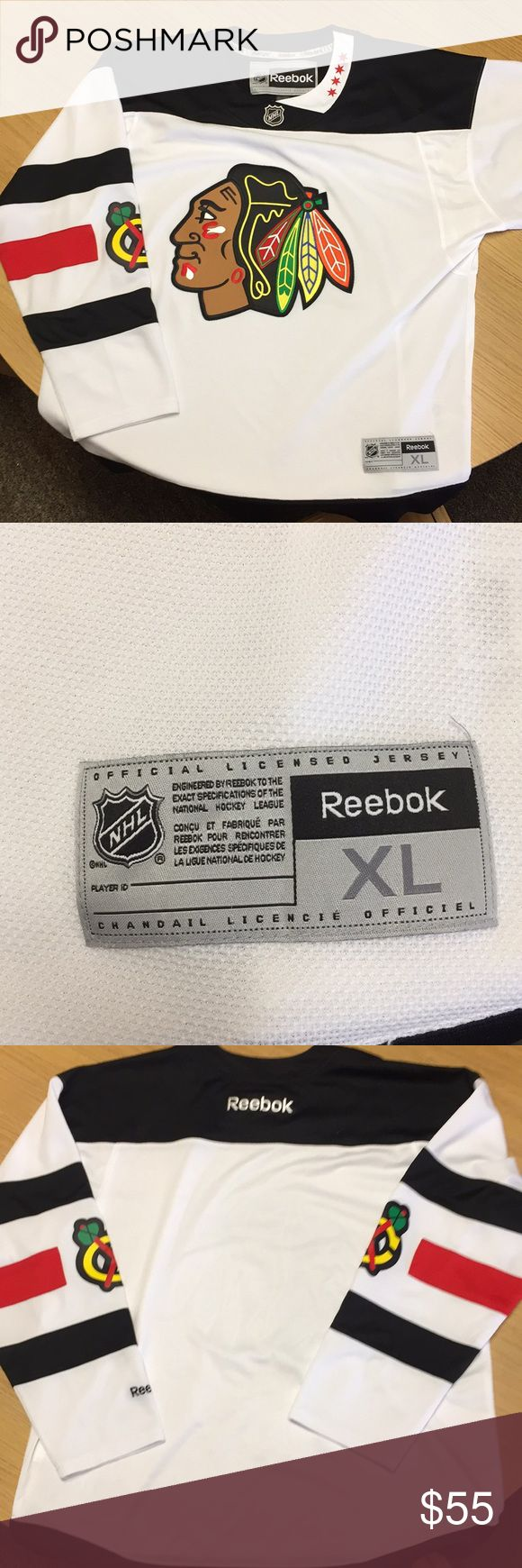 Chicago Blackhawks  jersey 2016 Chicago blackhawks stadium series jersey! Great condition no stains or marks! Reebok Other