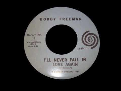 Bobby Freeman - I'll Never Fall In Love Again