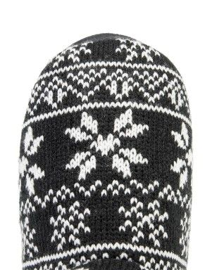 Aztec Knit Boot Slippers | Woolworths.co.za