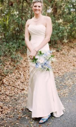 La Sposa Fanal 8: buy this dress for a fraction of the salon price on PreOwnedWeddingDresses.com #wedding #mybigday