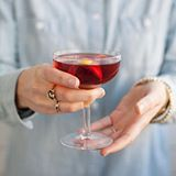 The Corpse Reviver #2 1 oz. gin 1 oz. Cointreau 1 oz. Lillet Blanc 1 oz. fresh lemon juice 1 dash absinthe Tools: shaker, strainer Glass: cocktail Garnish: orange peel