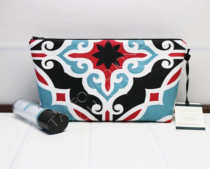 Excited to share the latest addition to my #etsy shop: Medium Makeup Pouch - Zipper Makeup Bag - Contemporary Fabric - Makeup Zipper Case - Cosmetic Bag - Purse Organizer Bag - Premier Prints http://etsy.me/2Fbcfr4 #bagsandpurses #medium makeupbag