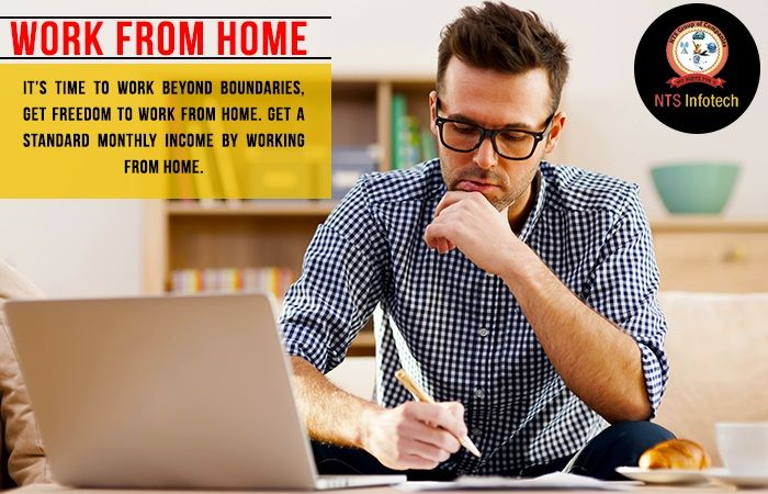 NTS provide earn money work from home.Please visit us- www.ntsinfotechindia.com
