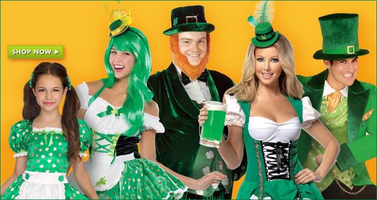 St. Patricks Day Leprechaun Costumes