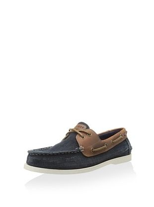 50% OFF Tommy Hilfiger Men's Bowman2 Boat Shoe (Denim)