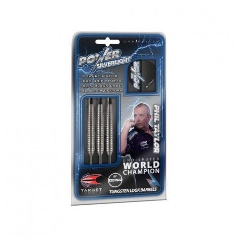 Target Phil Taylor Power Silverlight dartpijlen De Wit Schijndel