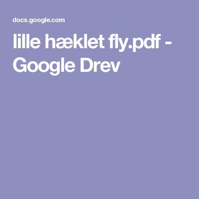 lille hæklet fly.pdf - Google Drev