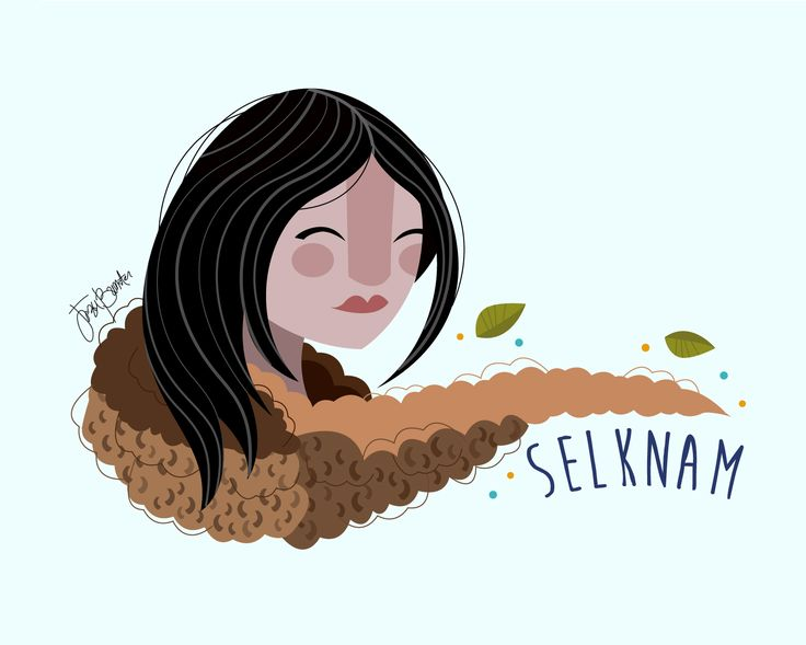 "Jezu Bunster Illustrations & Design ""Mujer Indígena"" -SELKNAM WOMAN-"