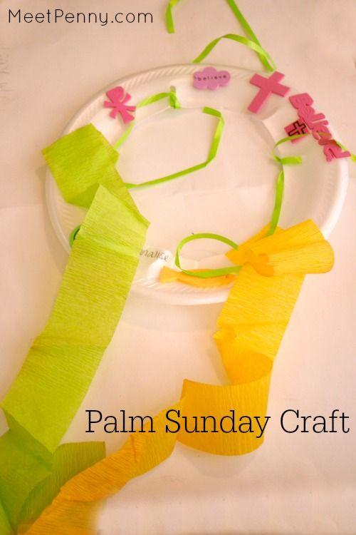 Hallelujah Shaker from 3 Palm Sunday craft ideas