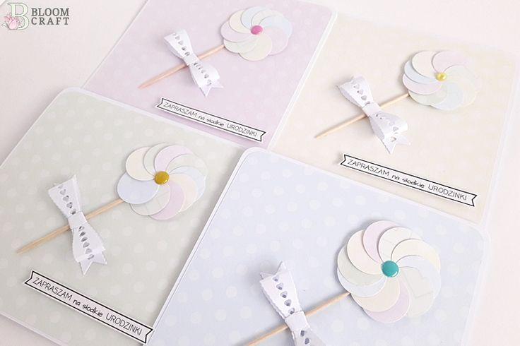 kartki; zaproszenia, urodziny; dla dziecka; cards, invitations, birthday; kids; digi