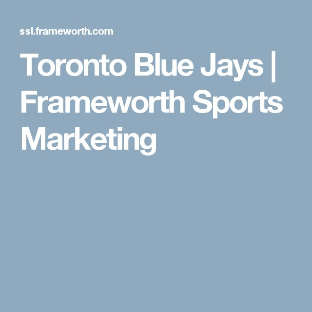 Toronto Blue Jays | Frameworth Sports Marketing