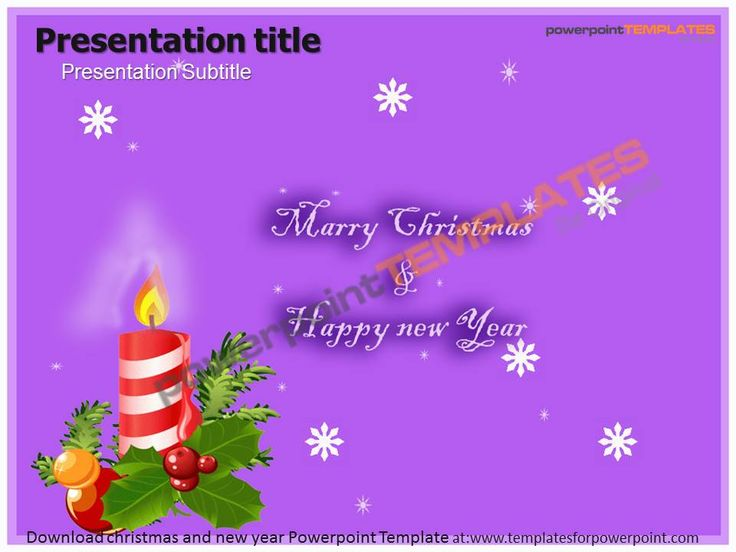 22 best Christmas Templates images on Pinterest Christmas - christmas powerpoint template