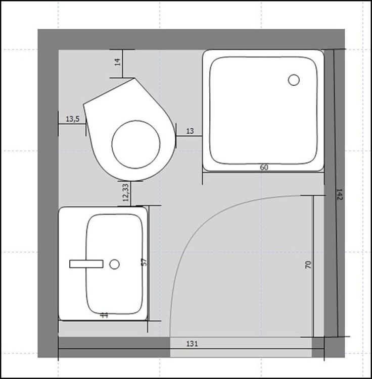 Planos banos pequenos dise os arquitect nicos - Dimensiones plato de ducha ...