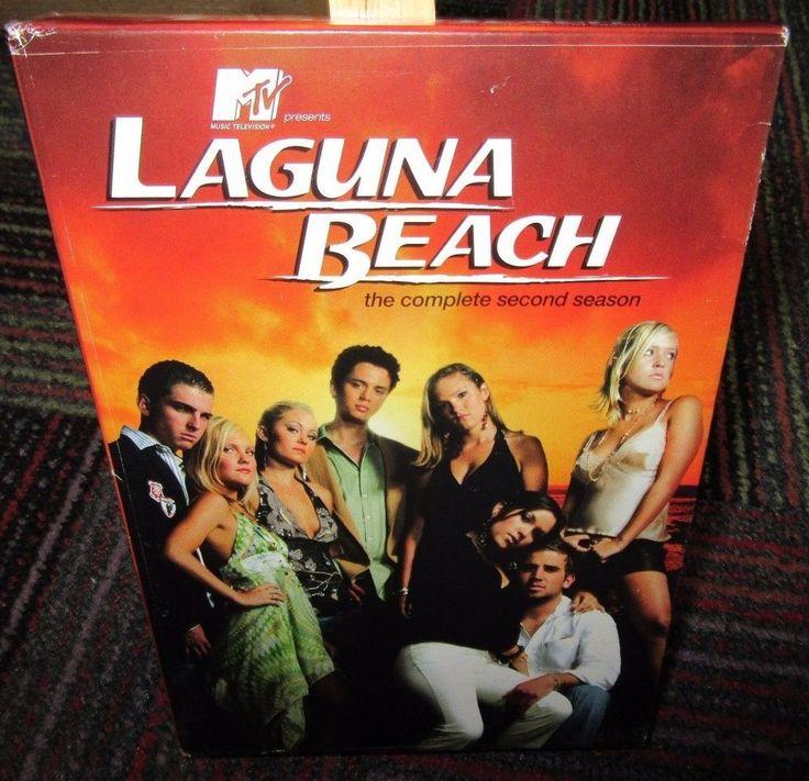 LAGUNA BEACH - THE COMPLETE SECOND SEASON 3-DISC DVD SET, SEASON 2, EUC