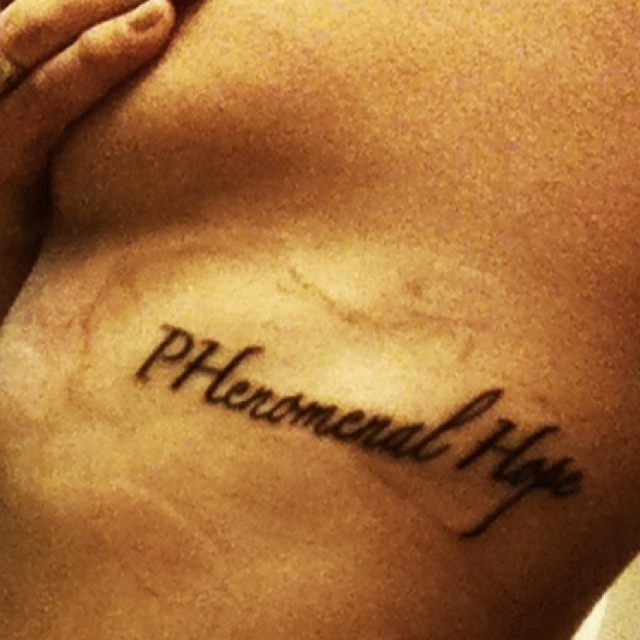 309 best images about life with pulmonary hypertension on for Still breathing tattoo