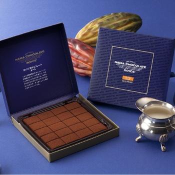 北海道のおみやげといえば 生チョコレート?