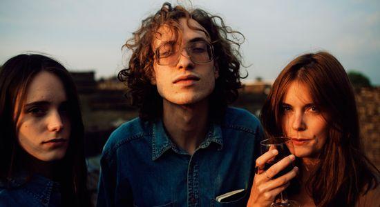 #StacyMartin Stacy Martin with her boyfriend Daniel Blumberg