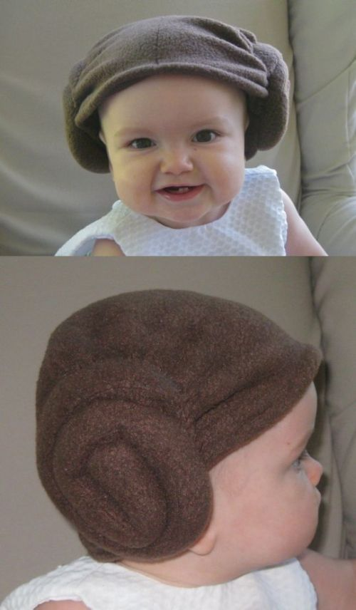 princess leah buns hat @Michelle Brown: Funny Shit, Princesses Leah, Kids Closet, Funny Baby Faces, Future Baby, Buns Hats, Crafty Ideasgift, Ideas Catalog, Read Princesses