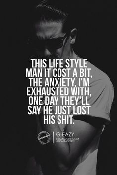 Quotes on Pinterest | G Eazy, Quotes About Friendship and ...