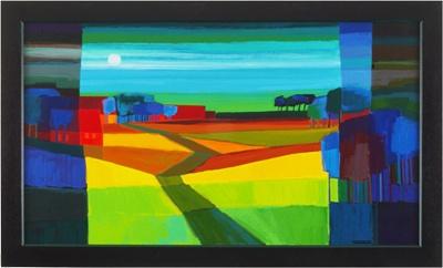 Ton Schulten | Zijn Werken | Landschappen  Veldweg 2003