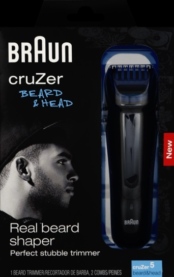 Braun cruZer Beard & Head trimmer