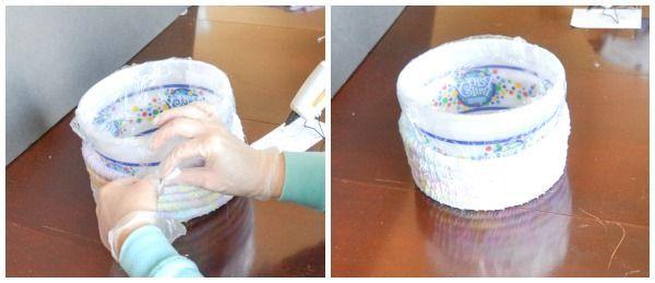 Tutoriel sur les paniers de Pâques en tissu sans couture
