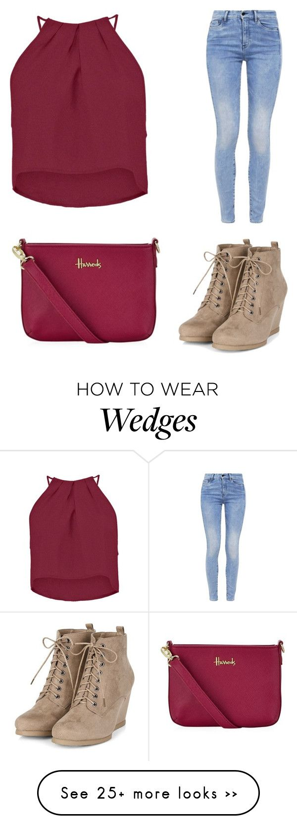 """""""Trending 733"""" by ayannap on Polyvore featuring Boohoo, G-Star and Harrods"""