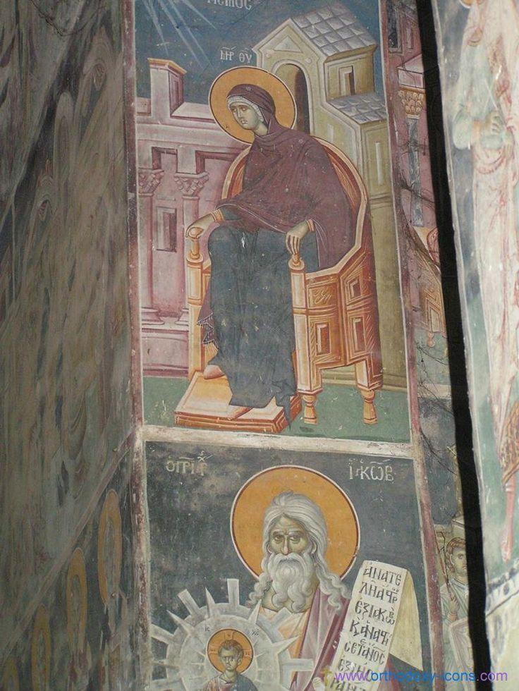 Frescoes Old Nagorichno 12-14 centuries.  Part V