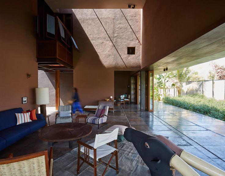 Shadow House by Samira Rathod Architecture house