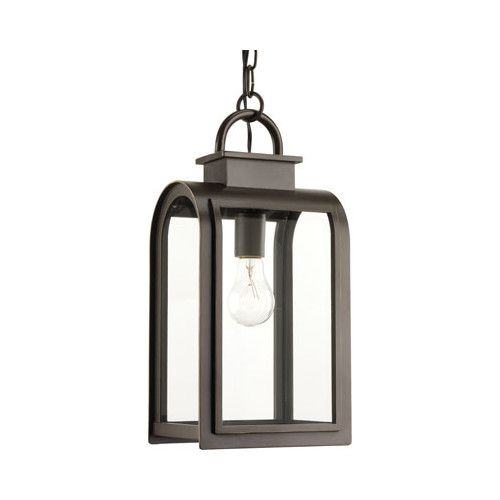 Found it at AllModern - Refuge 1 Light Outdoor Hanging Lantern: Entry and Front Porch?