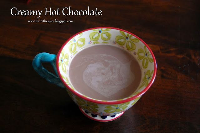 Creamy Hot Cocoa Recipe — Dishmaps