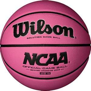 Pink Basketball!  The Evolution.  Best Ball ever made especially for a shooter