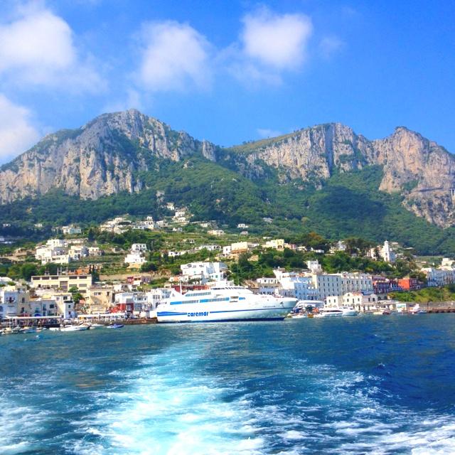 Ishchia Italy port
