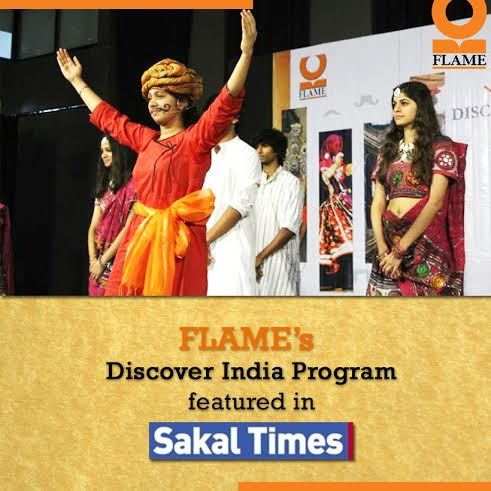 FLAME's Discover India Program Finale was filled with unusual insights into rare Indian cultures and this enlightening event was covered by Sakaal Times in its Youngistaan section.   Find out what the article has to say about 'Exploring the lost cultures of India.' http://epaper.sakaaltimes.com/SakaalTimes/27Mar2014/Normal/page13.htm