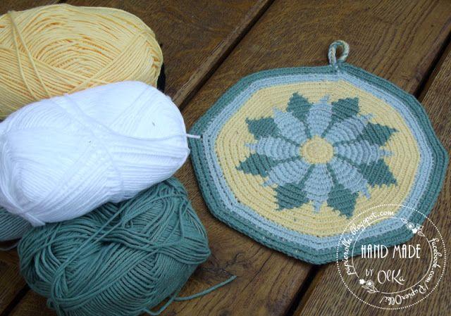 Tapestry crochet.